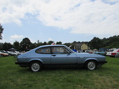 Ford Capri 2.8 Injection A366NGS (Andrew 2.8i) Tags: show car cars classic classics gwili railway transport day bronwydd arms german v6 cologne sports sportcar coupe hatch hot hatchback mark 3 mk mk3 2800 injection 28 capri ford welsh wales uk unitedkingdom