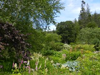 Logie House Gardens, Logie Estate, Moray, July 2018