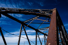 rust (Tomás Harrison Fotos) Tags: nm2 hagerman d750 nikon historic ngc bridge availablelight roadtrip architecture landscape afnikkor24mmf28d color nm riofelix austin tx usa