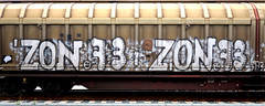 graffiti on freights (wojofoto) Tags: amsterdam nederland netherland holland cargotrain freighttraingraffiti freighttrain fr8 vrachttrein graffiti streetart wojofoto wolfgangjosten zonke zon73