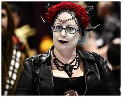 Rosie (Explored) (gro57074@bigpond.net.au) Tags: eyes roses rosie costume portrait sydneyolympicpark 2018 sydneycosplayfestival cosplay f28 70200mm d850 nikon auscomiccon supernova