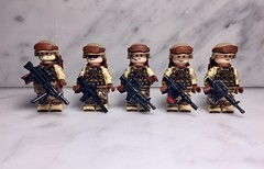 The Marines (Yappen All Day Long) Tags: custom lego military marine army m4 ar ar15 brickarms eclipsegrafx minifig cat