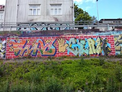 Pispala Hall of Fame (Thomas_Chrome) Tags: graffiti streetart street art spray can wall walls fame gallery hof pispala tampere suomi finland europe nordic legal