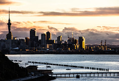 28 june 2018 - photo a day (slava eremin) Tags: 365 1day dailyphoto photoaday auckland sunset bastionpoint nz newzealand