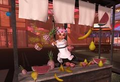 Fruit Ninja! (Serena Reins) Tags: confession poses sim store inworld baby serena karate kitana kid toddleedoo cutie bytes fruit ninja