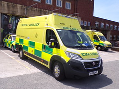 6010 - NWAS - PN18 DKE - 101_1822 (Call the Cops 999) Tags: uk gb united kingdom great britain england north west 999 112 emergency service services vehicle vehicles nwas ambulance open day 2018 preston fire and station fiat ducato pn18 dke