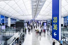 Travellers - Hongkong 171/188 (*Capture the Moment*) Tags: 2017 airport architecture architektur cheklapkok hongkong hongkonginternationalairport midfieldconcourse sonya7m2 sonya7mark2 sonya7ii sonyfe1635mmf4zaoss sonyfe41635 sonyilce7m2