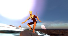 More surfing time! (Patch Linden) Tags: patch linden patchlinden second life secondlife riot