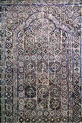 Composition with tiles with islamic motives (c. 1500-1550) - Seville (Spain) (pedrosimoes7) Tags: nationaltilesmuseum lisbon portugal islamicmotives sevillespain geometric geometrique geométrico culturamuçulmana islamic tiles azulejos artgalleryandmuseums