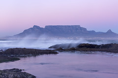 L72 (jennypowisphotography) Tags: pastelcolours tablemountain rocks sea shore sand slowshutterspeed