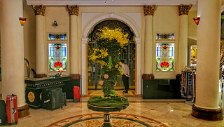 Lobby im Majestic Hotel am Saigon River