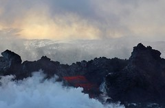 Kilauea lava (famkefonz) Tags: kilauea eruption lava bigisland hawaii volcano volcaniclandscape creation outofthefire smoke steam moltenlava explosions boilingocean doomed ironwoodtrees