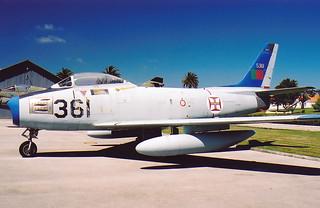 North American F-86F Sabre 5361 Museu do Ar