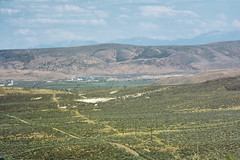 Western Landscape I (Decaseconds) Tags: nevada interstate desert america landscape settlement