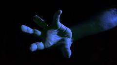 (josie.bell) Tags: blue reach hand arm fingers lighting shadow colour black