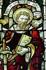 Stamford - St John the Baptist Church - Stained Glass (Glass Angel) Tags: stamford lincolnshire stjohnthebaptistchurch stainedglass claytonandbell churchesconservationtrust