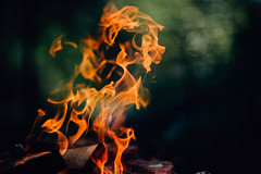 Genie of the fire (JuNu_photography) Tags: fire genie flame campfire