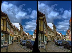 Historic Quedlinburg 3-D / CrossView / Stereoscopy / HDRaw (Stereotron) Tags: sachsenanhalt saxonyanhalt ostfalen harz mountains gebirge ostfalia hardt hart hercynia harzgau quedlinburg fachwerk halftimbered house stud work antiquated ancient medieval middleages architecture europe germany deutschland crosseye crossview xview pair freeview sidebyside sbs kreuzblick 3d 3dphoto 3dstereo 3rddimension spatial stereo stereo3d stereophoto stereophotography stereoscopic stereoscopy stereotron threedimensional stereoview stereophotomaker stereophotograph 3dpicture 3dimage hyperstereo twin canon eos 550d yongnuo radio transmitter remote control synchron kitlens 1855mm tonemapping hdr hdri raw