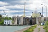 Lock 1, Welland Canal - Welland, Ontario (Richard Adams Photography) Tags: wellandcanal welland ontario shipping ship lock liftlocks alpena sky cloud water