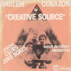 Creative Source - Harlem/Corazon 45rpm (oopswhoops) Tags: vinyl 45rpm funk soul creativesource billwithers caroleking sussex