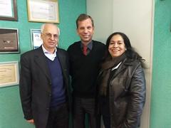 Visita - Mário Luiz Antonello e Marli Massolen
