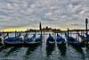 Sunset in Venice Italy (Rex Montalban Photography) Tags: rexmontalbanphotography venice italy europe sunset gondolas