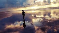 ARACAJU - Praia Sem Fim (sileneandrade10) Tags: sileneandrade praia reflexo mar céu ´panorama paisagem viagem turismo