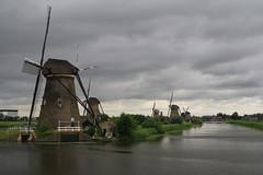 Kinderdijk10 (Campag3953) Tags: kinderdijk netherlands windmill worldheritagesite water sky cloud sails