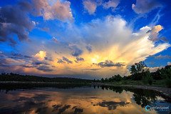 Teco_180508_5387-HDR (tefocoto) Tags: clouds embalse españa landscape madrid nature nubes pablosaltoweis paisaje reservoir spain storm teco tormenta valmayor