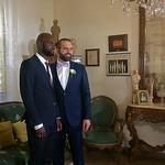 Philippe avec un ami • Au mariage de Philippe thumbnail
