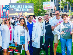 2018.06.30 WhiteCoats4FamiliesBelongTogether, Washington, DC USA 04252