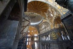 Hagia Sophia, Istanbul, Turkey (lena6363) Tags: trip travel museum turkey istanbul hagiasophia church