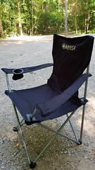 Picnic's Over! (grinnin1110) Tags: mensa charlotte unitedstatesofamerica chair rockyriverroad sunny northamerica reedycreekpark northcarolina afternoon mensapicnic outdoor picnic usa mecklenburgcounty nc