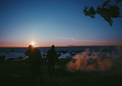 terra nullius (Diana Knjazeva) Tags: nature nikon d3300 1855 mm keila joa sea beach bonfire estonia eesti people sunset sun summer relax forest