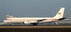 B707 | YR-ABB | AMS | 19920200 (Wally.H) Tags: boeing 707 boeing707 b707 yrabb romavia ams eham amsterdam schiphol airport