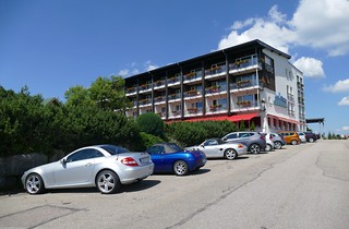 a mountain hotel in the northern Black Forest