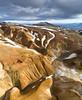 Heart of Iceland (Dani℮l) Tags: iceland highlands kerlingarfjöll desolate barren interior landscape daniel bosma snow ice hot spring volcanic mountain range color