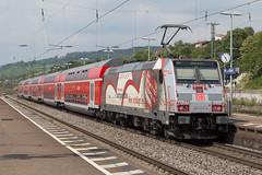 DB 146 227 Weil am Rhein (daveymills37886) Tags: db 146 227 weil am rhein baureihe bombardier traxx regio