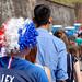 Retransmission télévisée de la 8e de finale de la coupe du monde de football, Belfort, 30 Juin 2018