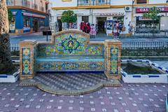 AYAMONTE-ANDALOUSIE-ESPAGNE   BCN_2014 (bercast) Tags: 2018 andalousie ayamonte banc decorationderue espagne fevrier huelva mosaique ue ville bc