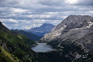 Lago di Fedaia - Italy