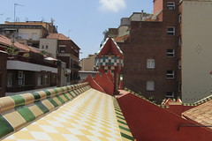 On the roof of Casa Vicens, Barcelona (*SHERWOOD*) Tags: spain barcelona casavicens antonigaudí