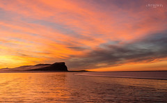 Cabo y atardecer ... (Marcelo Las Heras) Tags: atardecer cabo cielos clouds coast colors costa landscape mar nature nubes oceano paisaje patagonia playa sea seascapes sunset