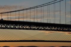 Forth Bridges Sunset (robert55012) Tags: sunset forth firthofforth scotland queensferry bridge queensferrycrossing forthroadbridge frb