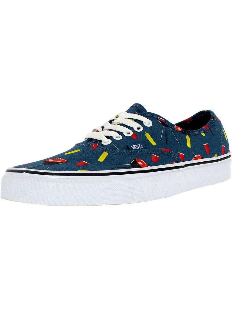 d5295d5f9b9ee7 Vans Men s Authentic Pool Vibes Ankle-High Canvas Fashion Sneaker  (laplace777) Tags