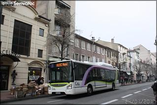 Iveco Bus Urbanway 12 CNG - Transdev Valence / Citéa n°55115
