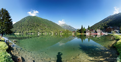 20180709-13-Lac de Champex pano (Roger T Wong) Tags: 2018 alps champex europe lacduchampex montblanc ptgui rogertwong sel2470z sony2470 sonya7iii sonyalpha7iii sonyfe2470mmf4zaosscarlzeissvariotessart sonyilce7m3 switzerland tmb tourdumontblanc bushwalk hike lake outdoors pano panorama reflection summer tramp trek walk