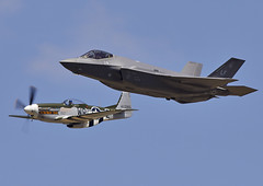 F-35A & Mustang (Graham Paul Spicer) Tags: