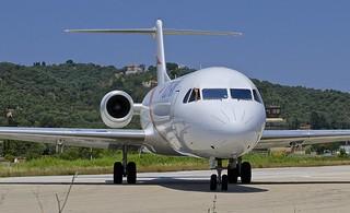 JSI/LGSK: TusAir Fokker 70 5B-DDB