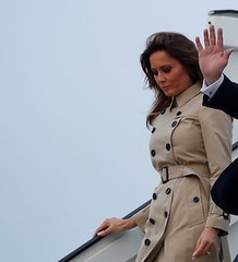 Melania Trump in Burberry Trench (obedientjohn) Tags: trenchcoat doublebreasted buttons burberry strict domin dominant lady elegant buttonedup fullybuttonedup somanybuttons mustobey worship iwouldkneel powerdressed